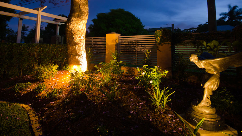 landscape design lighting